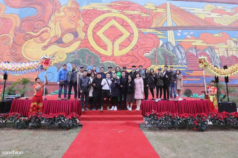 Tổ Chức Khánh Thành Bức Phù Điêu Gốm Lớn Nhất Việt Nam - Sunshine Media Group